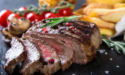 foto van vlees