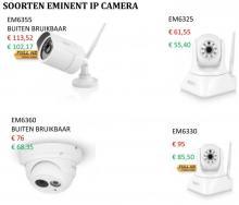 De vier soorten ip camera's